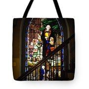Martin Luther At Historic Zion Tote Bag