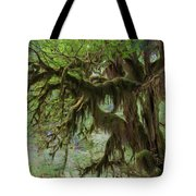 Marvelous Moss Tote Bag by Heidi Smith
