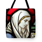 Mary Tears Tote Bag