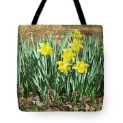Mary's Daffodils Tote Bag