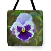 Masked In Purple Tote Bag
