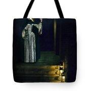 Masked Lady Tote Bag