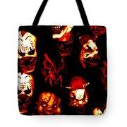 Masks Of Fear Tote Bag