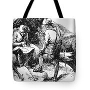 Mason And Dixon, 1763-67 Tote Bag