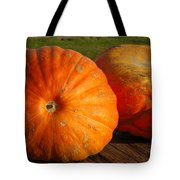 Mass Pumpkins Tote Bag