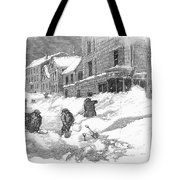Massachusetts: Blizzard Tote Bag