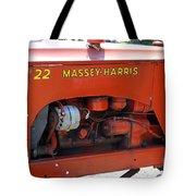 Massey Harris Details Tote Bag