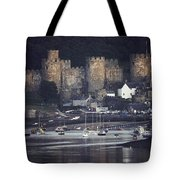 Massive Eight-towered Castle Looms Tote Bag