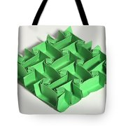 Mathematical Origami Tote Bag