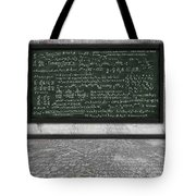 Maths Formula On Chalkboard Tote Bag