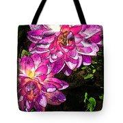 Maui Pink Garden Tote Bag