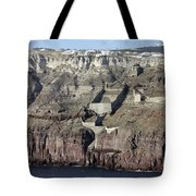 Mavromatis Pumice Quarry With Pier Tote Bag