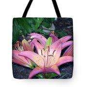 May Birth Flower Tote Bag