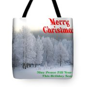 May Peace Fill Your Home Tote Bag