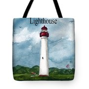 May The Magnificent Lighthouse  Tote Bag