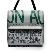 May Your Thoughts Tote Bag