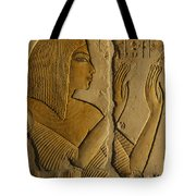 Maya Prays To The Gods On The Wall Tote Bag