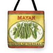 Mayan Peas Tote Bag