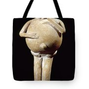 Mayan Rattle, 200-900 A.d Tote Bag
