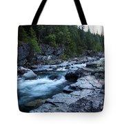 Mcdonald River Glacier National Park - 3 Tote Bag