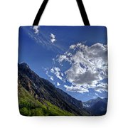 Mcgee Creek Canyon Tote Bag