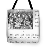 Mcguffeys Primer, 1881 Tote Bag