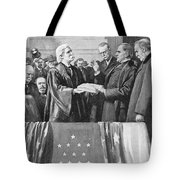 Mckinley Taking Oath, 1897 Tote Bag