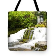 Mclean Falls In The Catlins Of South New Zealand Tote Bag