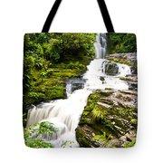 Mclean Falls In The Catlins Tote Bag