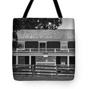 Mclean House Bw Appomattox Virgnia Tote Bag