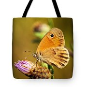 Meadow Brown Butterfly  Tote Bag