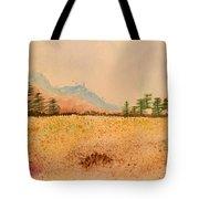 Meadow Wildflowers - Watercolor Tote Bag
