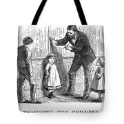Measuring Children, 1876 Tote Bag