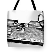 Measuring Machine Tote Bag