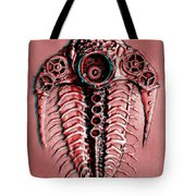 Mech-trilobite 4 In Anaglyph 3d Tote Bag