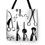 Medical Instruments, 18th Century Tote Bag