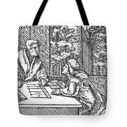 Medieval Arithmetic Tote Bag