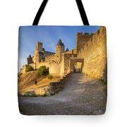 Medieval Carcassonne Tote Bag