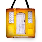 Medieval House Tote Bag