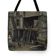 Medieval Idyll Tote Bag