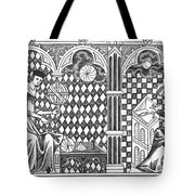 Medieval Mathematicians Tote Bag