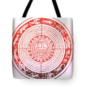 Medieval Zodiac Tote Bag by Science Source