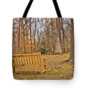 Meditation At Valley Forge Tote Bag