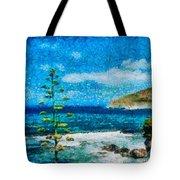 Mediterranean View Tote Bag