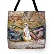 Meerkat And Aloe Tote Bag