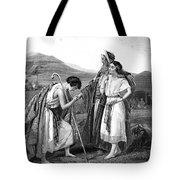Meeting Of Jacob & Rachel Tote Bag