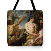 Meleager And Atalanta Tote Bag