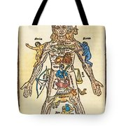 Melothesic Figure Tote Bag