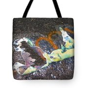 Melted Pin Up Girl Tote Bag