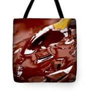 Melting Chocolate And Spoon Tote Bag